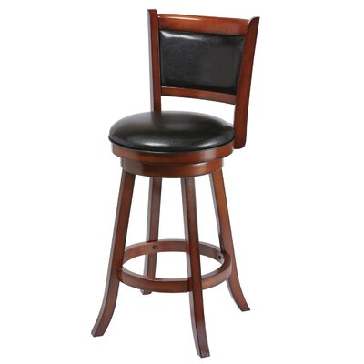 Bridgetown 30 Swivel Bar Stool Finish: Chestnut
