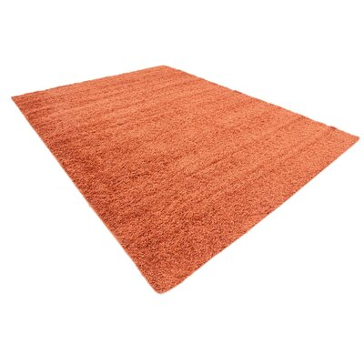 Lilah Basic Terracotta Area Rug Rug Size: Rectangle 8 x 11