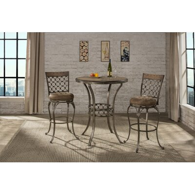 Donohoe 3 Piece Pub Table Set
