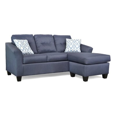 Desales Sectional Upholstery: Theo Navy