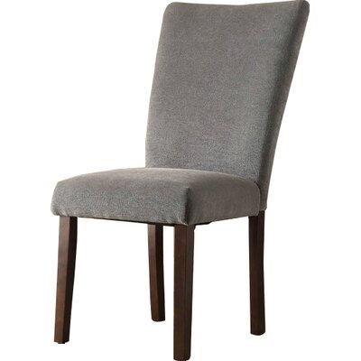 Pomfret Parson Chair Upholstery: Gray