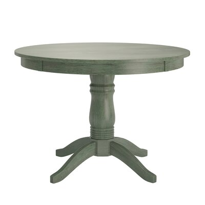 Oneill Wood Dining Table Color: Dark Sea Green