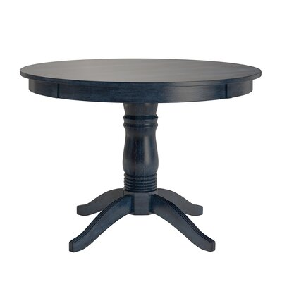 Oneill Wood Dining Table Color: Antique Dark Denim
