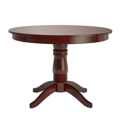 Oneill Wood Dining Table Color: Samba Red