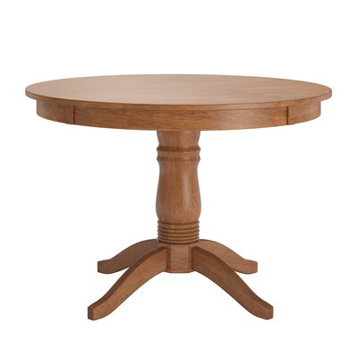 Oneill Wood Dining Table Color: Oak
