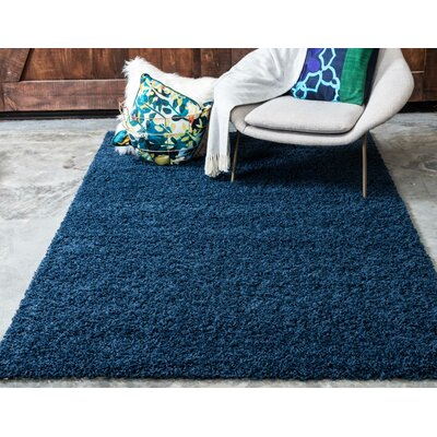 Falmouth Sapphire Area Rug Rug Size: Rectangle 8 x 11