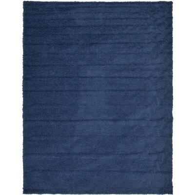 Falmouth Navy Blue Area Rug Rug Size: Rectangle 10 x 13