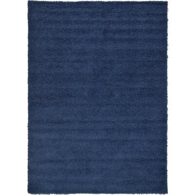 Falmouth Navy Blue Area Rug Rug Size: Rectangle 7 x 10