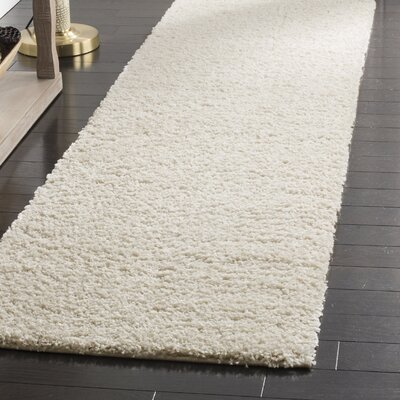 Curran Creme Area Rug Rug Size: Runner 23 x 12