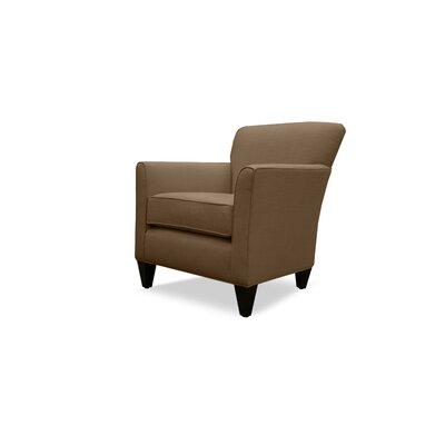 Danville Linen Armchair Finish: Camo