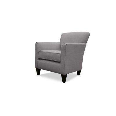 Danville Linen Armchair Finish: Grey