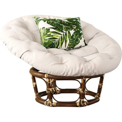Angustain Papasan Chair Upholstery: Eggshell