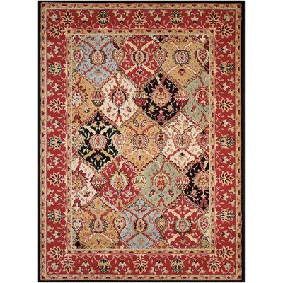 Standish Brown Area Rug Rug Size: Rectangle 53 x 73