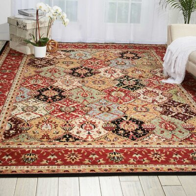 Standish Brown Area Rug Rug Size: Rectangle 710 x 106