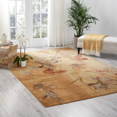 Smithtown Beige Area Rug Rug Size: Rectangle 67 x 97