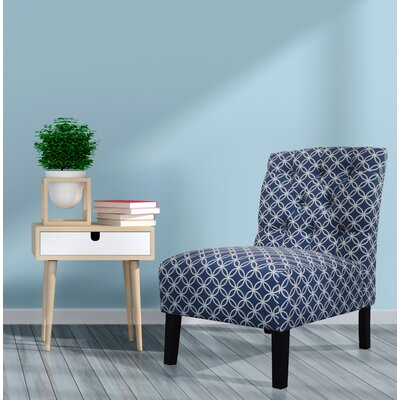 Goldenberg Parsons Chair Upholstery : Navy