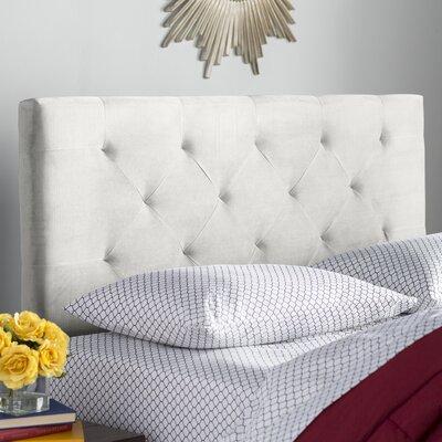 Brennan Upholstered Panel Headboard Size: King/California King, Upholstery: Oyster