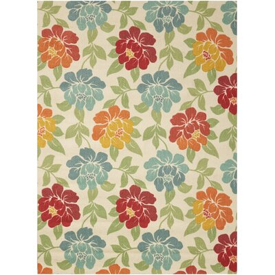 Beatrice Ivory Area Rug Rug Size: Rectangle 5 x 7