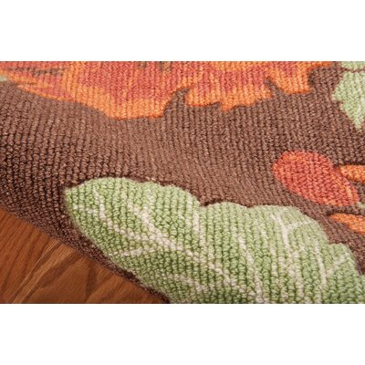 Beatrice Chocolate Area Rug Rug Size: Rectangle 26 x 4