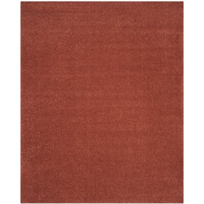 Curran Terracotta Area Rug Rug Size: Rectangle 8 x 10