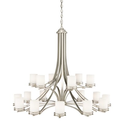 Clarkshire 18-Light Shaded Chandelier