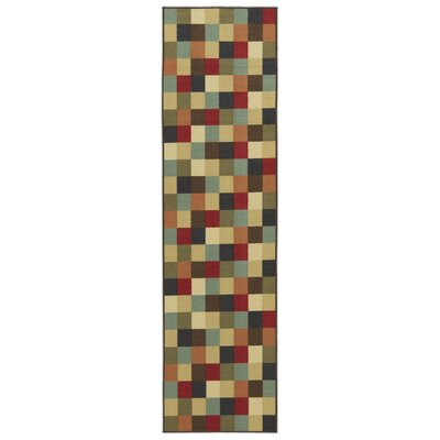 Galesburg Area Rug Rug Size: Runner 110 x 7
