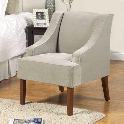 Krantz Swoop Armchair Upholstery: Dove Gray