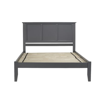 Newmont Platform Bed with Open Footboard Size: Full