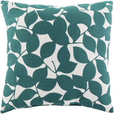 Barrington Outdoor Throw Pillow Size: 20 H x 20 W x 4 D, Color: Teal
