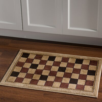 Alica Boxes Brown/Beige Area Rug Rug Size: Rectangle 2 x 3