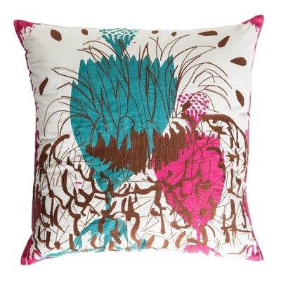 Cactus Cotton Throw Pillow
