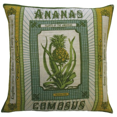 Botanica Linen Throw Pillow