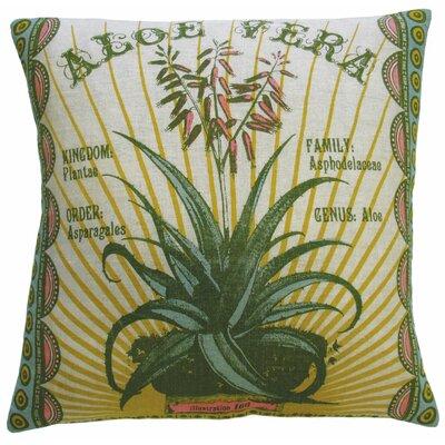 Botanica Linen Throw Pillow