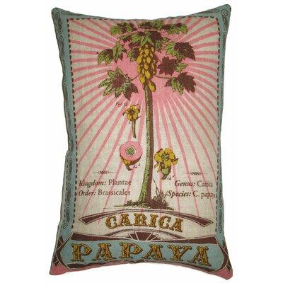 Botanica Linen Lumbar Pillow