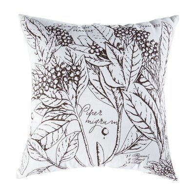 Uruli Pepper Cotton Throw Pillow