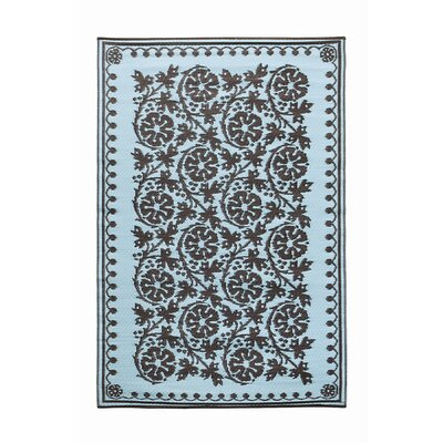 Cinquefoil Flowers Kitchen Mat Color: Ice Coffee