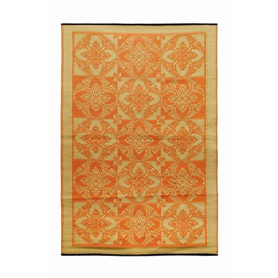 Primrose Flowers Kitchen Mat Color: Saffron