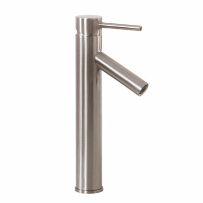 Single Handle Bathroom Faucet Finish: Brushed Nickel