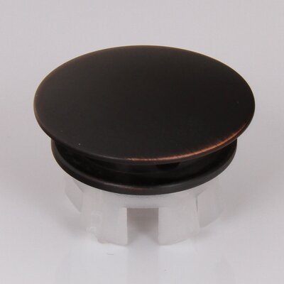 Solid Brass Overflow Cap Finish: Oil Rubbed Bronze