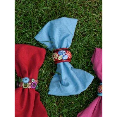 Essential Napkins Color: Light Blue