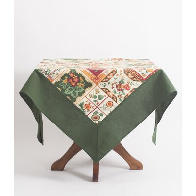 Tile Tablecloth TPTILE6X9X.Ecru