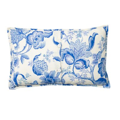 Dieter Embroidered 100% Cotton Lumbar Pillow