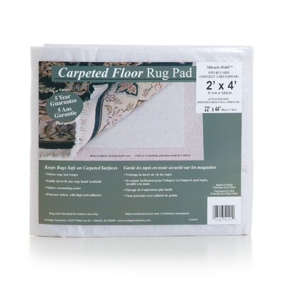 Miracle Hold Non-Slip Rug Pad Rug Pad Size: Rectangle 5 x 8