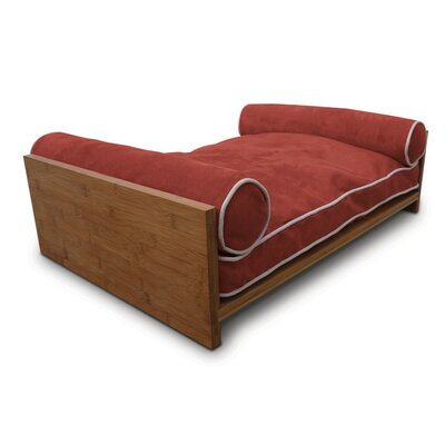 Bambu Pet Daybed Color: Tango Orange