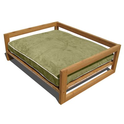 Bambu Pet Lounger Color: Kiwi Green