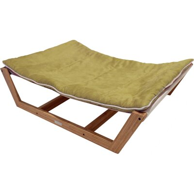 Bambu Nautical Pet Hammock Size: Medium - 9 H x 26 W x 35.5 D, Color: Kiwi Green