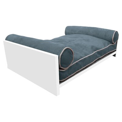 Padma Bamboo Pet Bed Color: Berry Blue