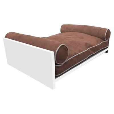Padma Bamboo Pet Bed Color: Chestnut Brown