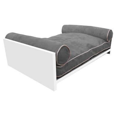 Padma Bamboo Pet Bed Color: Graphite Gray