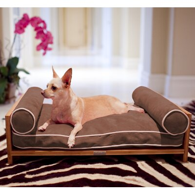 Daybed Cushion Dog Sofa Color: Chesnut Brown